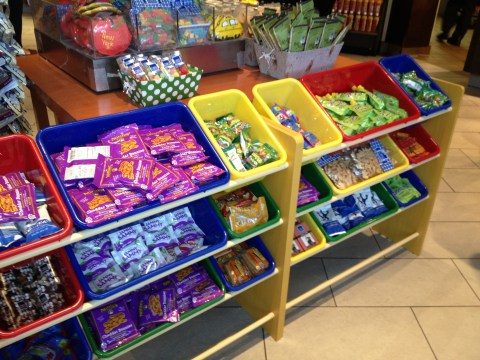 Kid-friendly and fairly healthy choices in JetBlue's JFK Terminal 5