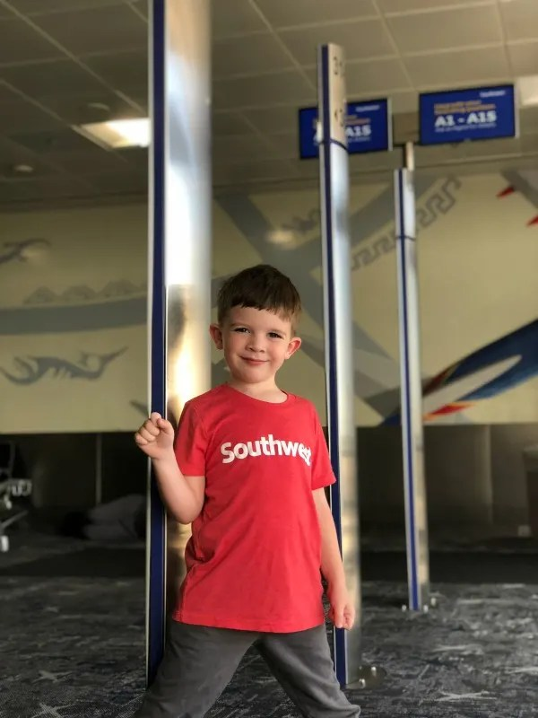 Flying Southwest with Kids - Family Boarding
