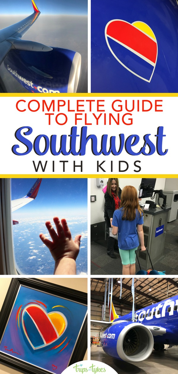 Flying Southwest Airlines with kids? All the best tips and hacks for family travel on flights aboard Southwest - boarding, tickets, seats, and more. #familytravel #travelwithkids #southwest #southweststorytellers #southwestheart