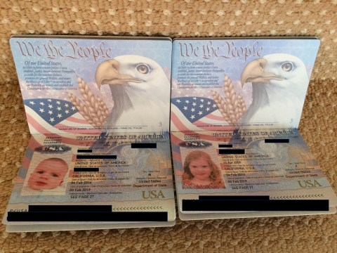 Baby passport photos are pretty cute, right?