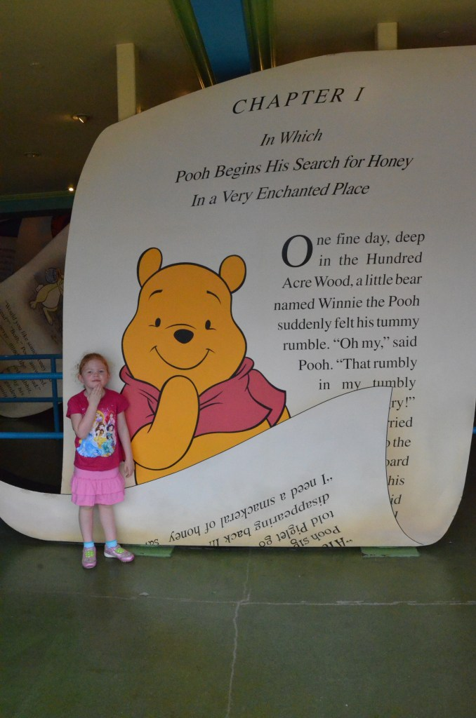 Winnie the Pooh Attraction at Hong Kong Disneyland