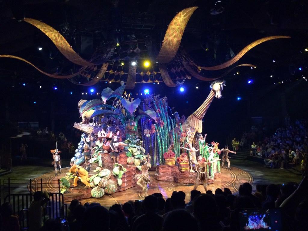 Festival of the Lion King in Hong Kong Disneyland