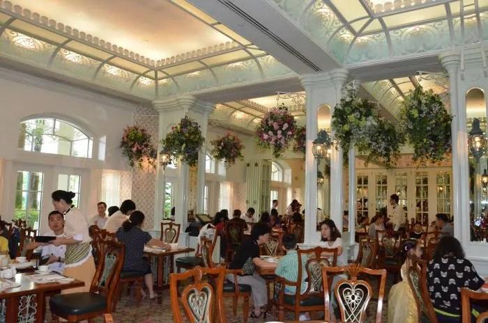 Hong Kong Disneyland Hotel Enchanted Garden Interior