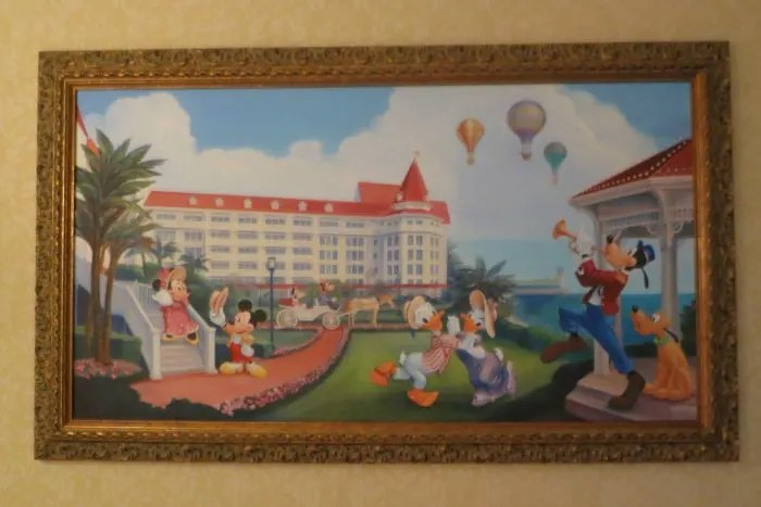 Hong Kong Disneyland Hotel Room Art