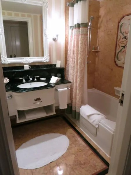 Hong Kong Disneyland Hotel Room Bathroom