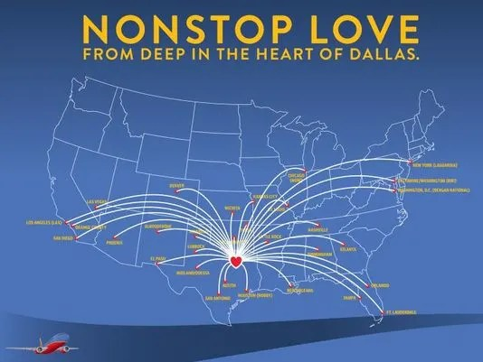 Southwest Dallas Love Routes