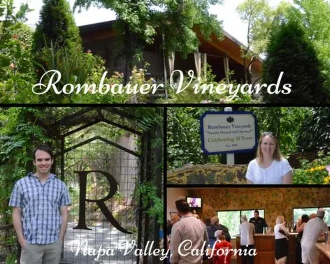 Rombauer Vineyards in St. Helena,, California