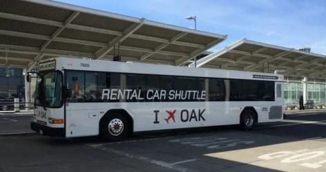 Navigating Oakland Airport with Kids: OAK Rental Car Shuttle