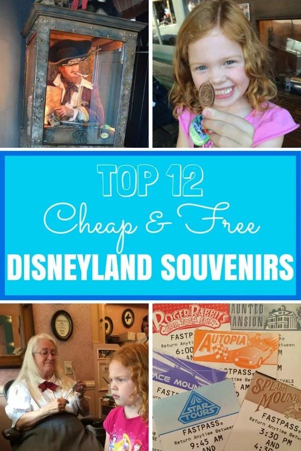 12 Cheap or Free Souvenirs at Disneyland