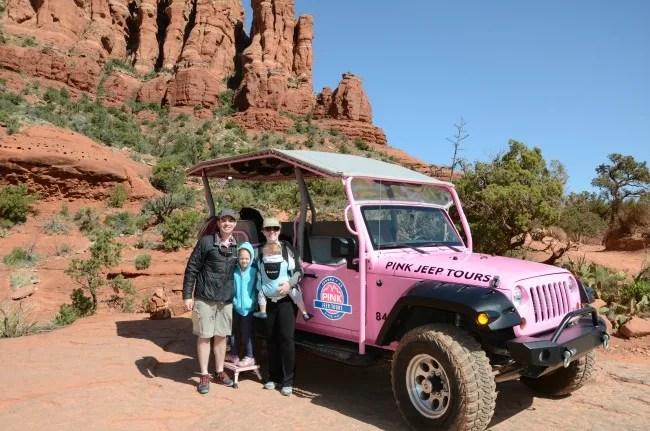 Sedona Arizona With Kids   Pink Jeep Tours