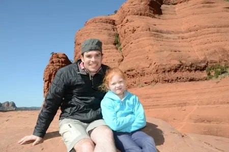 Sedona Arizona with Kids - Red Rocks