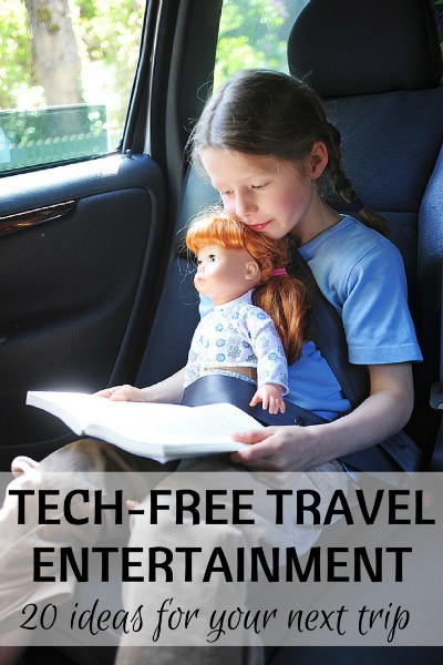 No iPad Necessary: 20 Tech-Free Travel Entertainment Ideas for Kids