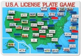 Tech free - Melissa Doug License Plate Game