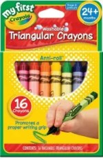 Tech free - Triangular crayons