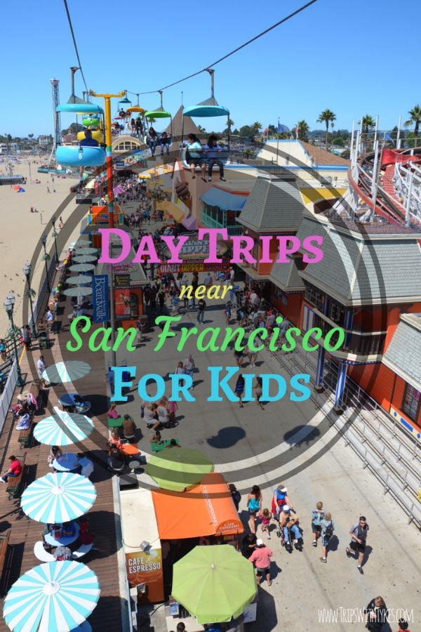 10 Kid-Friendly Day Trips near San Francisco