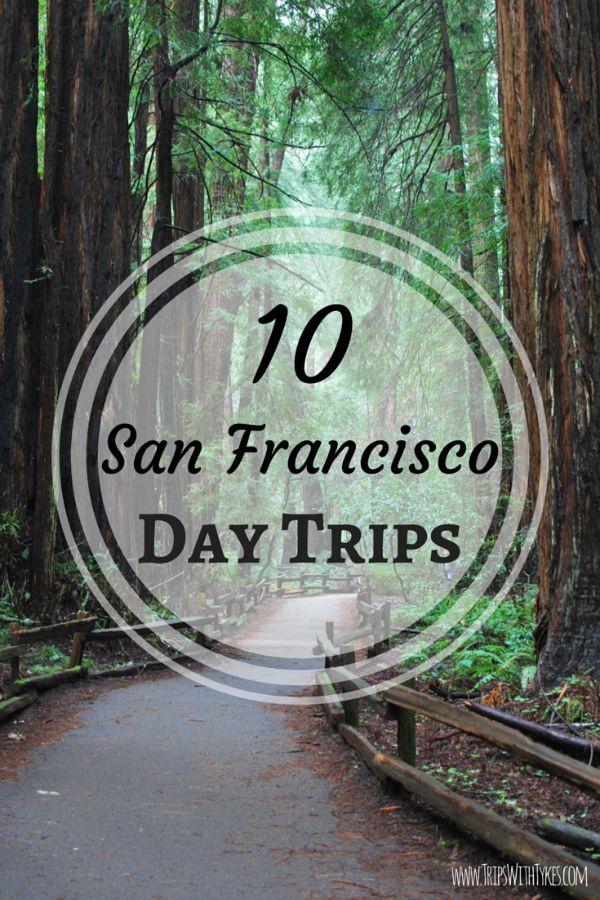 10 Kid-Friendly Day Trips near San Francisco