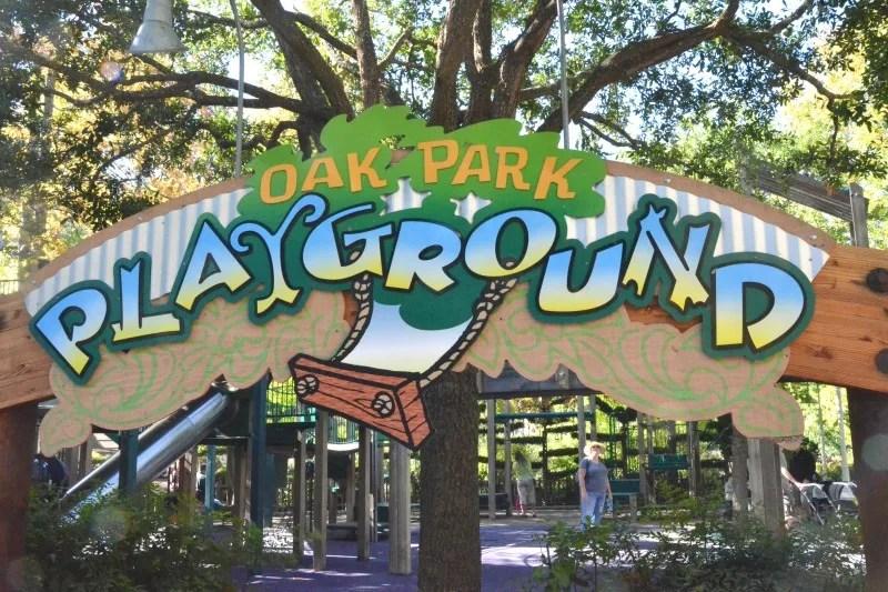 Gilroy Gardens Tips - Oak Park Playground