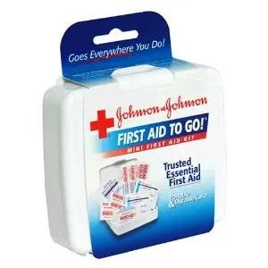 Johnson and Johnson First Aid Mini Kit