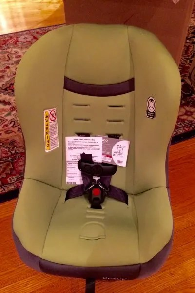 Cosco Scenera NEXT Review Empty Seat