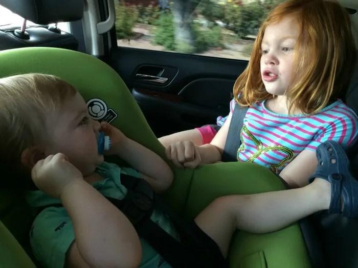 Cosco Scenera NEXT Review In car