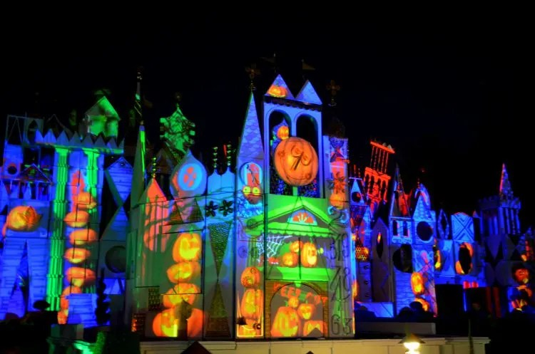 Mickey's Halloween Party It's A Small World