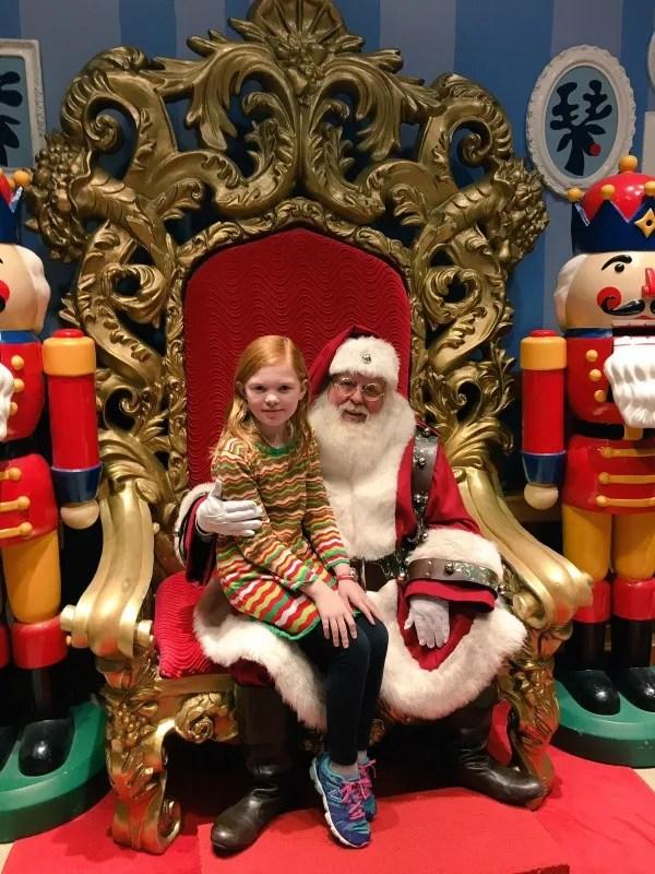 Christmas in San Francisco - Macys Santaland