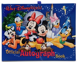 Disney Stocking Stuffers - Autograph Book