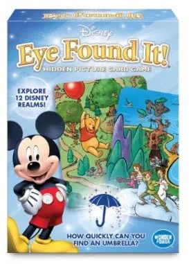 Disney Stocking Stuffers - Eye Found it Travel Card Game