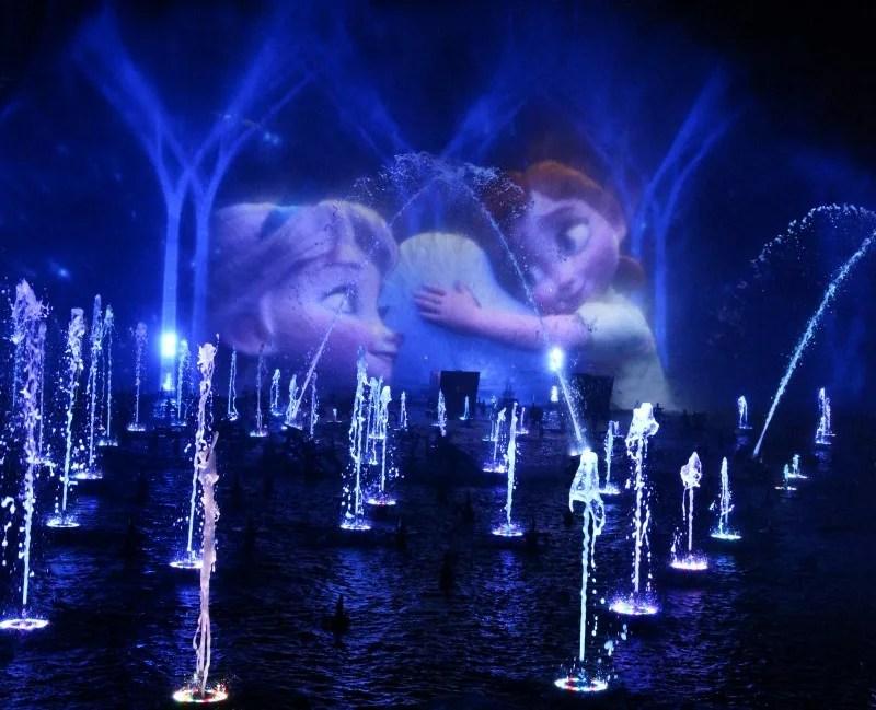 Holidays at Disneyland - World of Color Season of Light