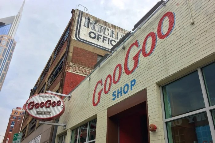 Nashville with Young Kids - Goo Goo Cluster Store