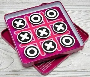 Stocking Stuffers for Traveling Kids - Tic Tac Toe