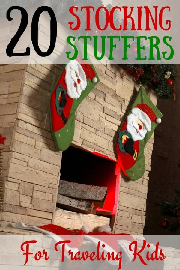 Stocking Stuffers for Traveling Kids
