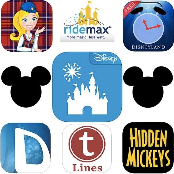 Top 7 Disneyland Apps