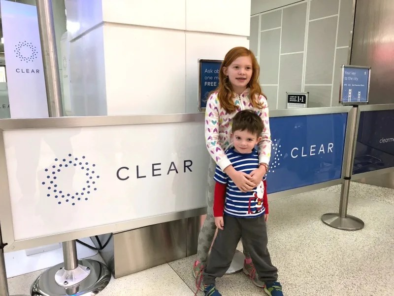 Holiday Air Travel with Kids - Cutting TSA Lines with CLEAR