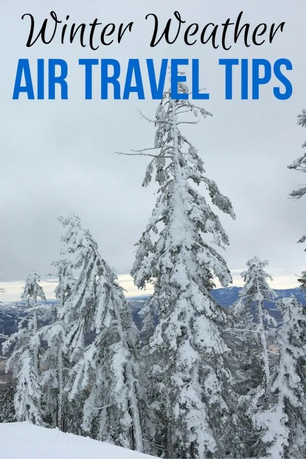 Traveling by plane during the winter months can be risky. Get the best tips for winter air travel success so you can minimize your chance for delays and cancellations.