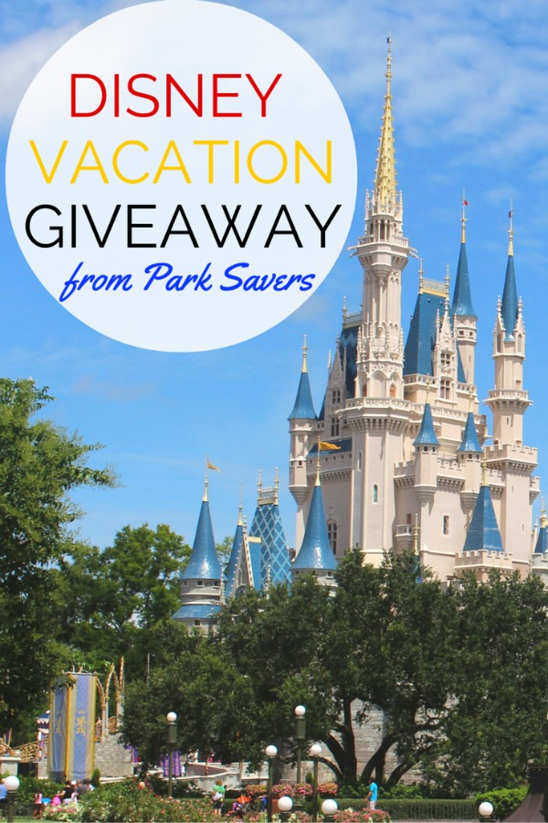 Want to win a trip to Disney? Enter this giveaway from Park Savers by April 4, 2016 for a chance to win 4 two-day tickets to either Walt Disney World or Disneyland and a 3 night stay at a Disney Resort Hotel!
