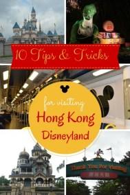 Hong Kong Disneyland - 10 Tips and Tricks