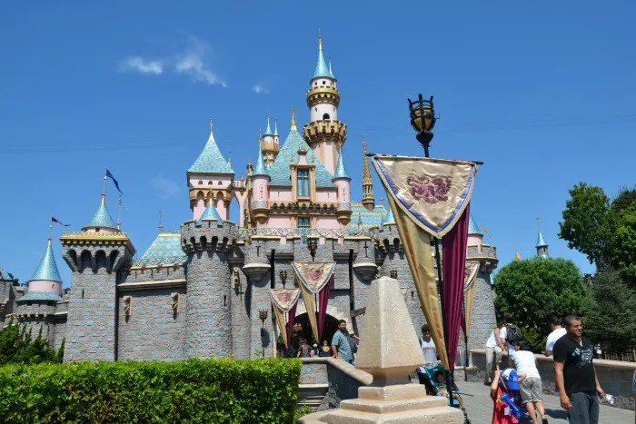 Off Property at Disneyland - Caslte