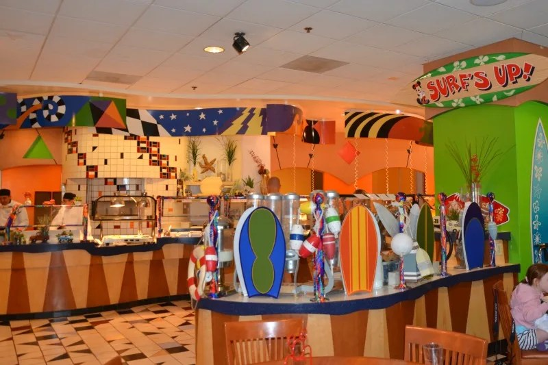Surf's Up! Breakfast with Mickey Buffet
