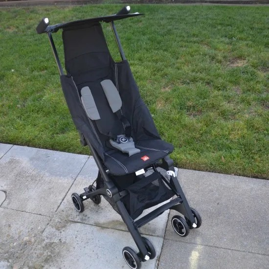 gb Pockit Review - Assembled stroller