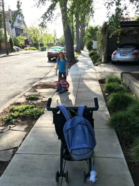 gb Pockit Review - Stroller Stability