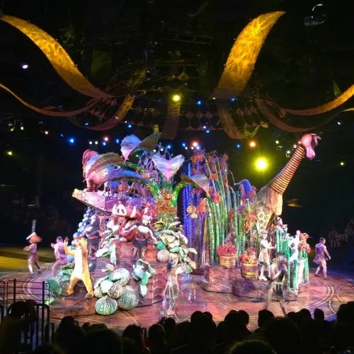 Top Attractions at Hong Kong Disneyland - Festival of the Lion King