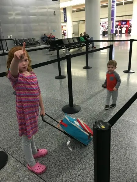 Track Your Tykes Travels - Kids in Airport SFO