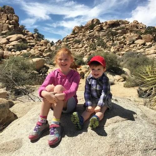 Joshua Tree National Park with Kids - Happy Kids