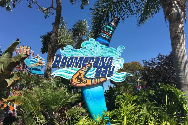 Californias Great America with Kids - Boomerang Bay