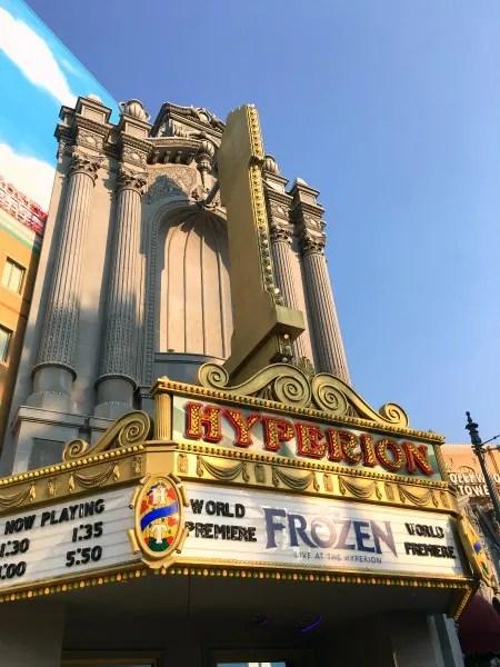 Disney Social Media Moms On the Road Disneyland - Frozen Live at the Hyperion