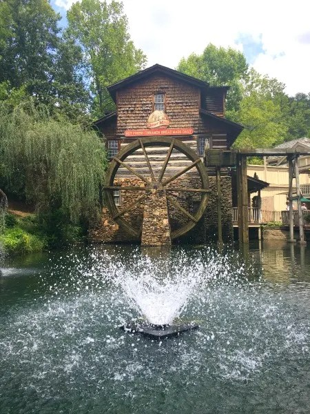 Dollywood with Kids - Grist Mill