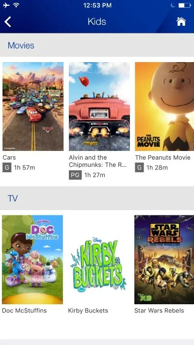 United with Kids - Movie Choices