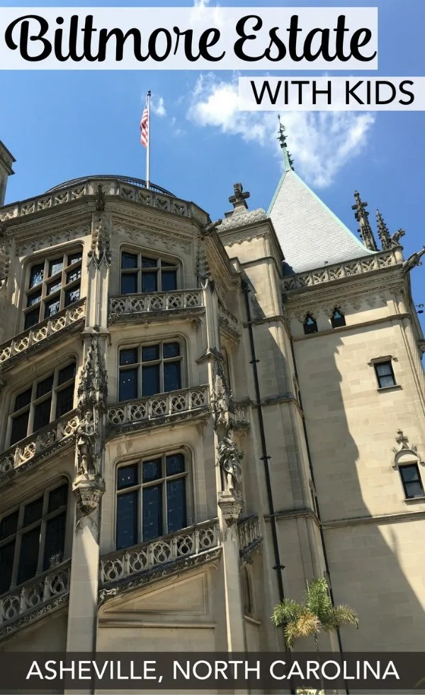 Biltmore Estate with Kids: Visiting Asheville, North Carolina on your next family vacation? What to do, where to stay, and how to plan for a visit to America's most opulent estate with kids.