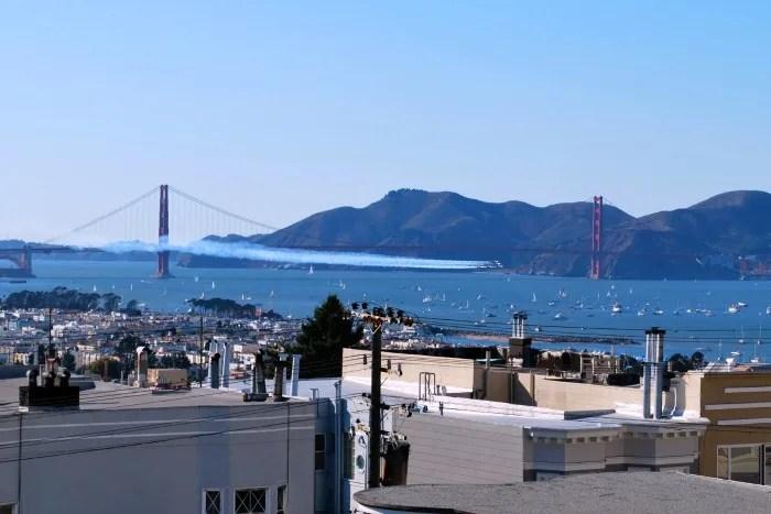 Fall Activities for Kids near San Francisco - Fleet Week Blue Angels